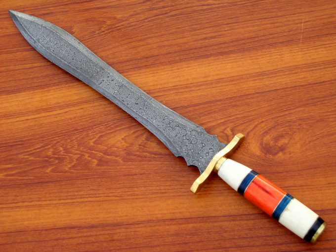 Hunting-Sword-With-Camel-Bone-Handle
