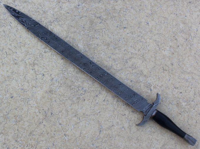 Hunting-Sword-With-Micarta-Handle