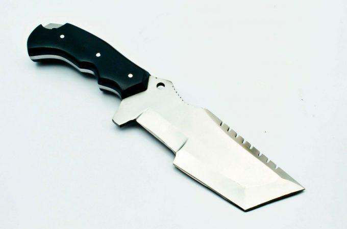 Custom-Handmade-D2-Steel-Hunting-Tracker-Knife-With-Micarta-Handle