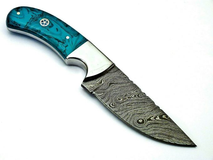 Hunting-Skinner-Knife-With-Resin-Sheet-Handle