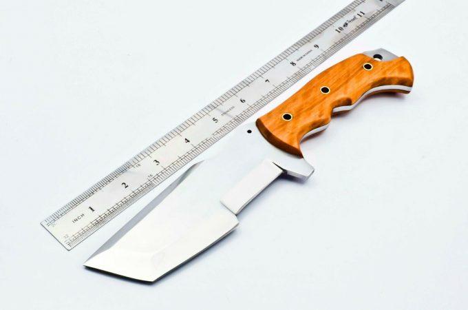 Olive-Wood-Handle-Hunting-Tracker-Knife