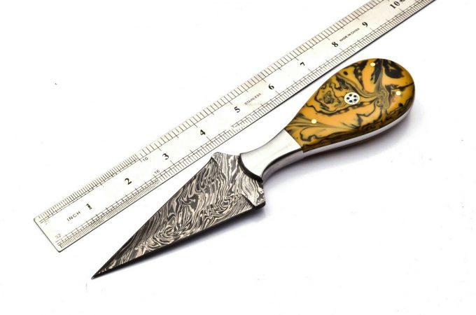 Handmade-Damascus-Steel-Hunting-Dagger-Knife-For-Sale