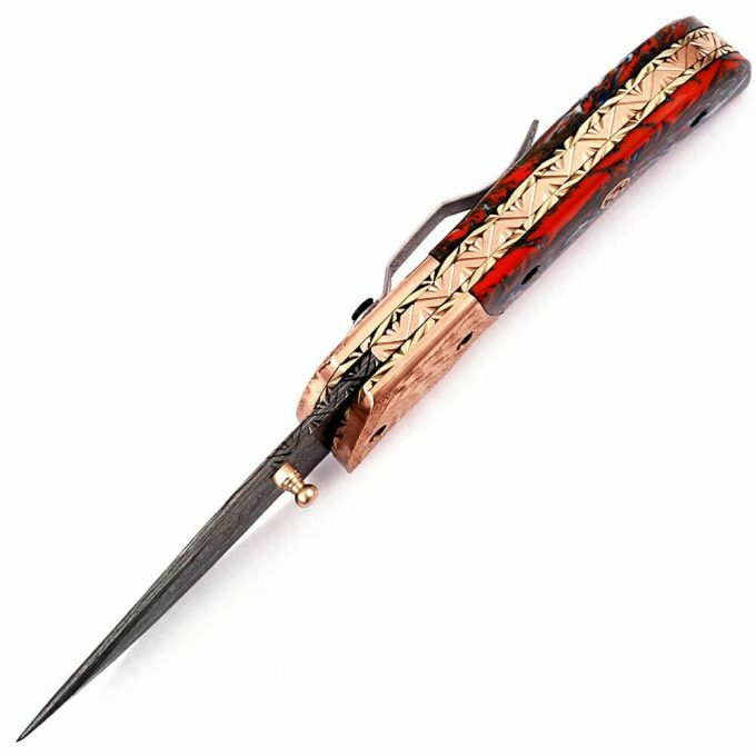 Handmade-Damascus-Steel-Pocket-Folding-Knife