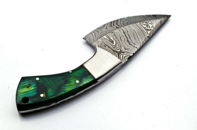 Hunting-Skinner-Knife-With-Pakka-WWood-Handle