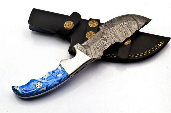 Resin-Sheet-Handle-Hunting-Tracker-Knife