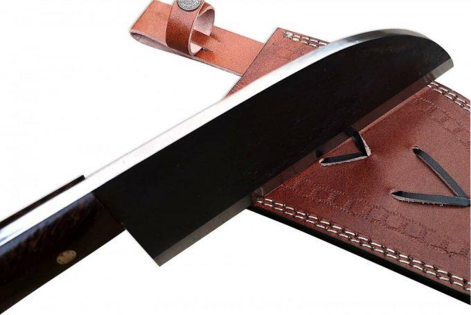 Wenge-Wood-Handle-Cleaver-Knife