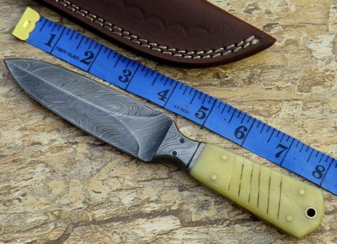 Camel-Bone-Handle-Hunting-Dagger-Knife