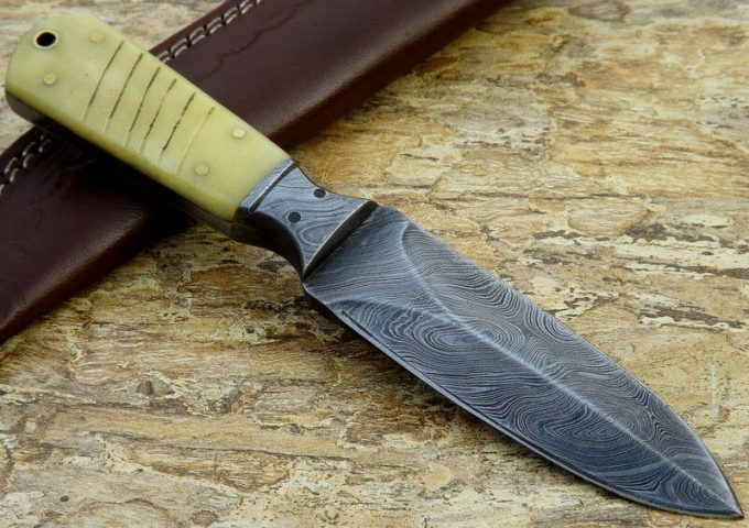 Dagger-Knife-With-Leather-Sheath