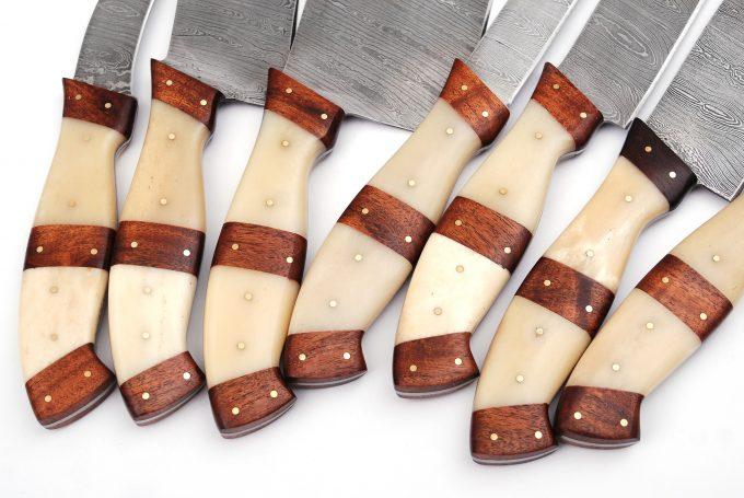 Damascus-Steel-Kitchen-Knives-Set