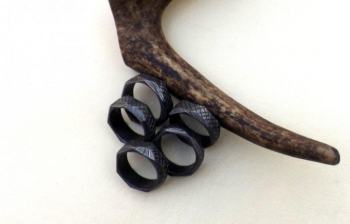 Full-Damascus-Steel-Beautiful-Rings