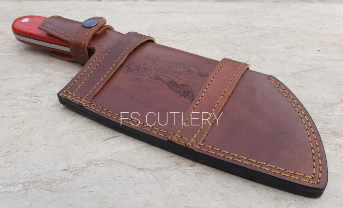 Chef-Cleaver-Knife-With-Leather-Sheath