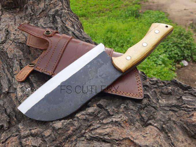 D2-Steel-Chef-Cleaver-Knife-Himalaya-Wood-Handle