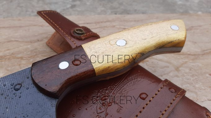 D2-Steel-Chef-Cleaver-Knife-Himalaya-Wood-And-Rose-Wood-Handle