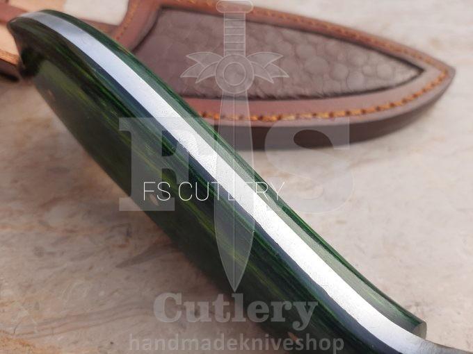 Damascus-Steel-Hunting-Skinner-Knife-Custom-Handmade-Pakka-Wood-Handle