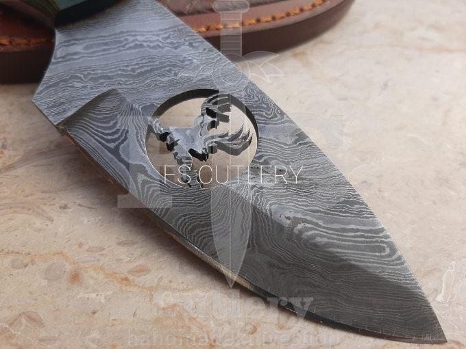 Damascus-Steel-Hunting-Skinner-Knife-Pakka-Wood-Handle