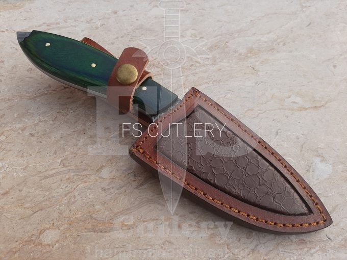 Hunting-Skinner-Knife-With-Leather-Sheath