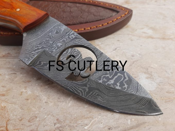 Orange-Pakka-Wood-Handle-Hunting-Skinner-Knife